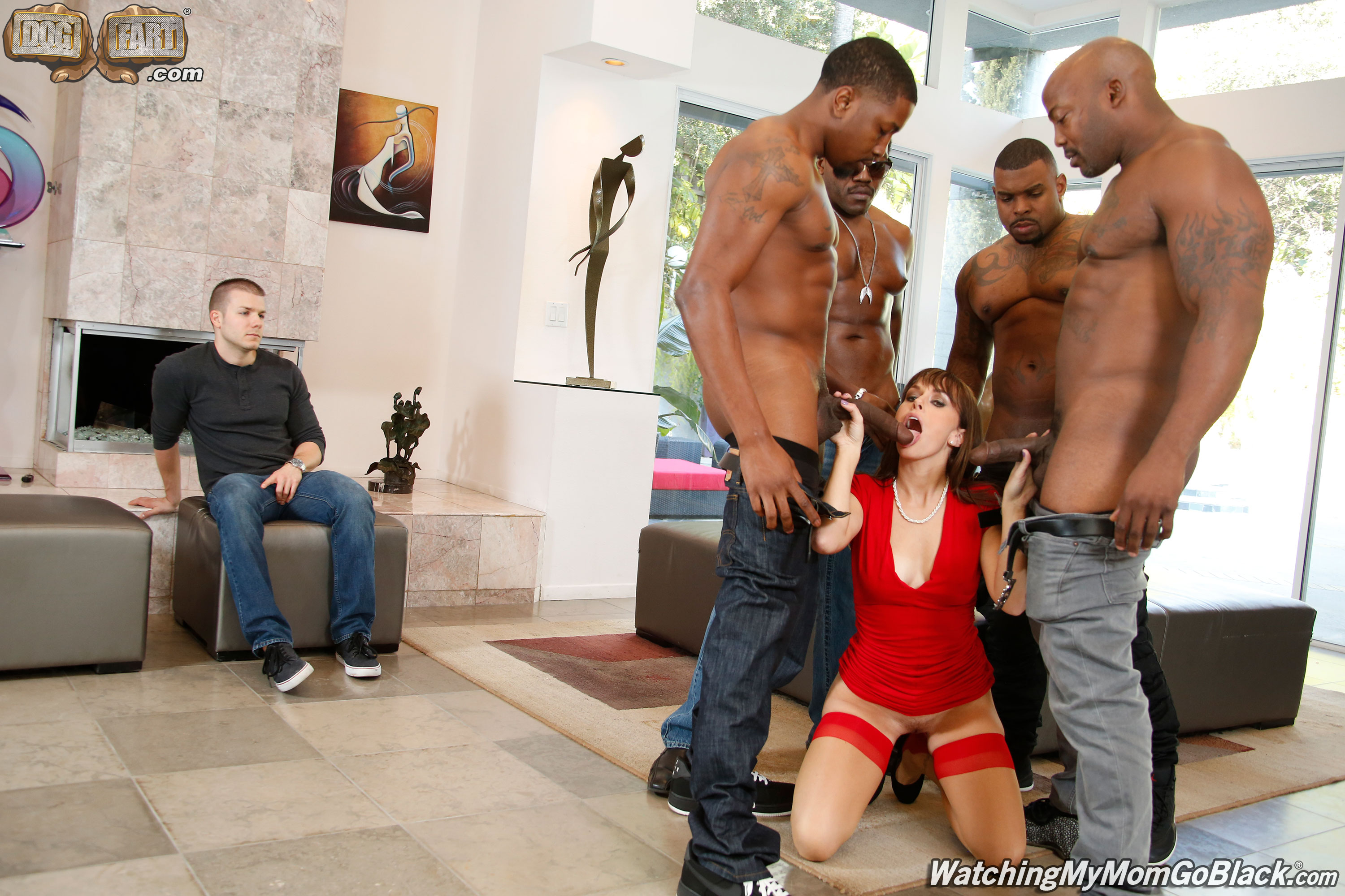image Alana cruise invites black men for some double penetration