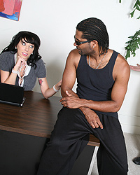 Interracial Hardcore Alia Janine