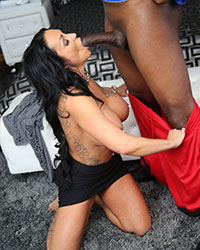 Ashton Blake Forced To Suck Black Dick