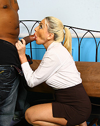 Cala Craves Interracial Internal Creampie