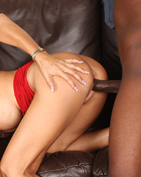 Desi Foxx - Forced to watch Cougar Mom fuck black interracial