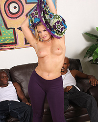 Flower Tucci Interracial Creampie Eating