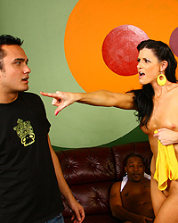 India Summer Blacks On Blondes Compilation Watching-My-Mom-Go-Black Pix