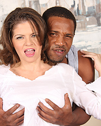 June Summers - Cougar Mom fucks sucks black dick makes son watch