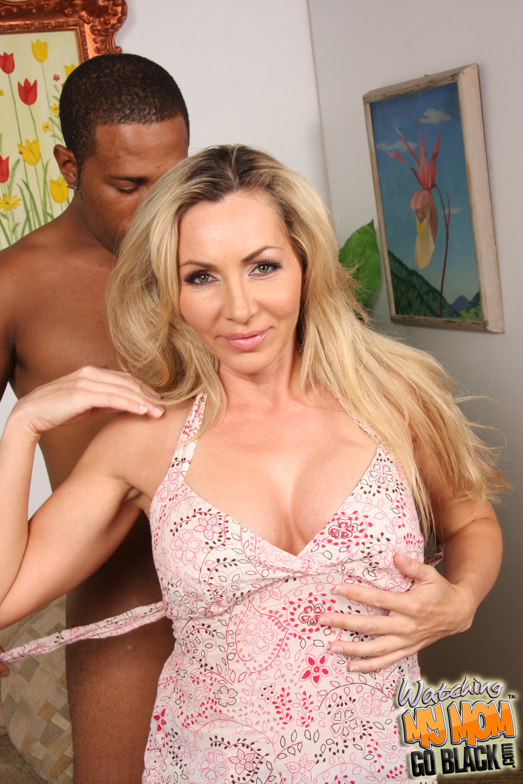 lisa interracial Milf demarco