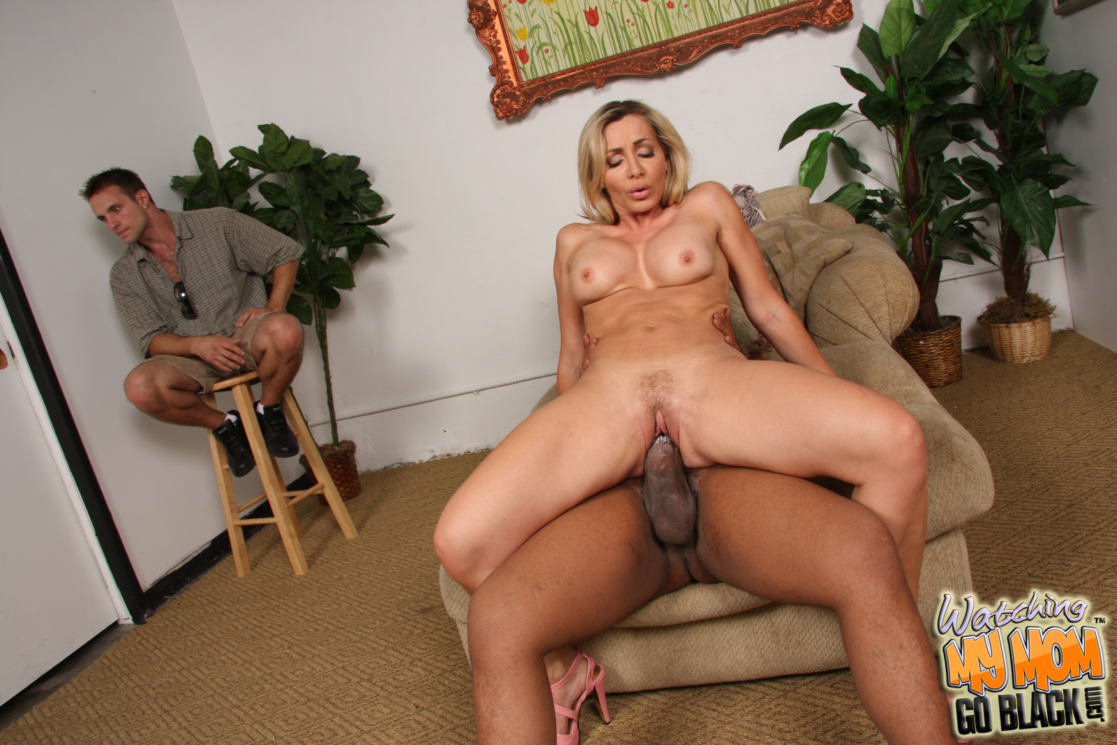 In Having sex front of mom naked