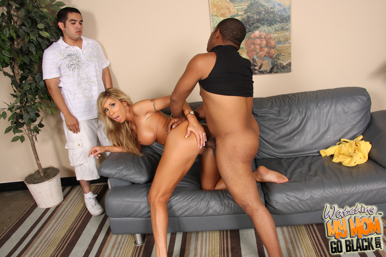image Cuckold interracial slut wife fucked in all hole