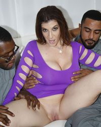 Sara Jay Forced To Suck Black Dick
