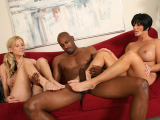 Shay Foxx & Haley Cummings Blacks On Blondes Envy