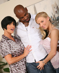 Interracial Gangbang Stories Shay Foxx & Haley Cummings