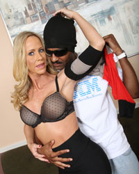 Simone Sonay and Miley May Bridgette Kerkove Blacks On Blondes