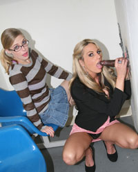 Sindy Lange and Penny Pax Sarah Vandella Blacks On Blondes