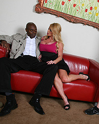 Black Uncut Watching-My-Mom-Go-Black Photo Set