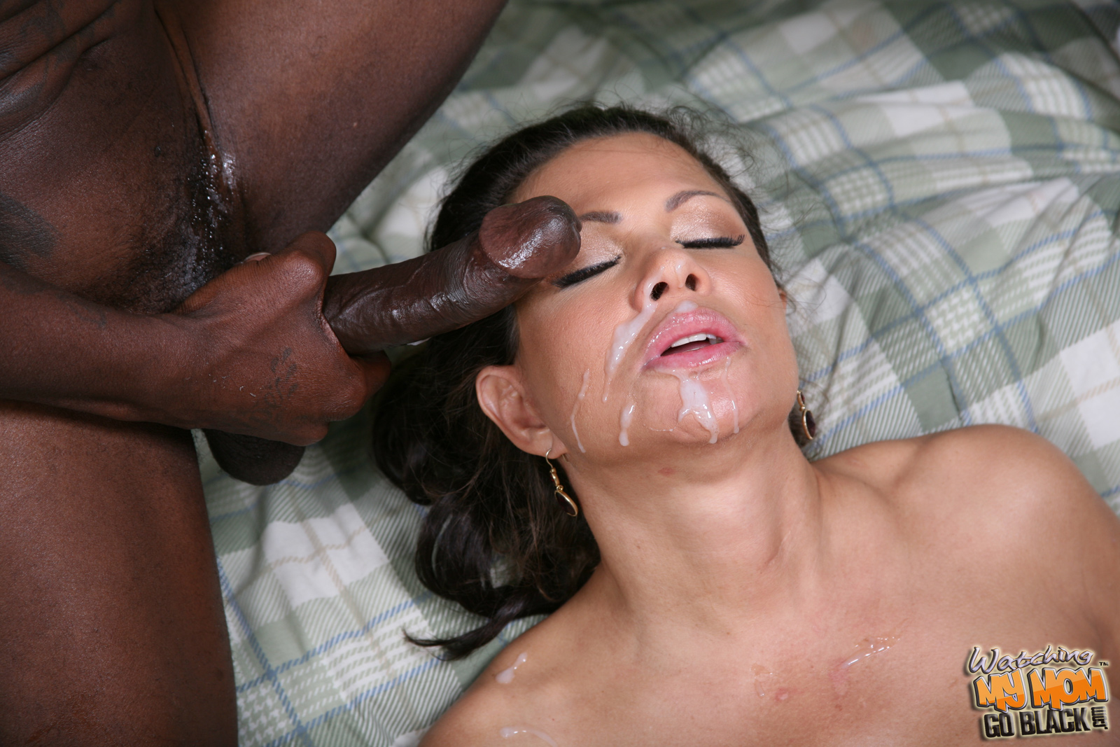 Blacks on blondes cumshot compilation