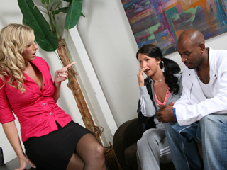 Tina Dove and Jordan Kingsley Sasha Grey Blacks On Blondes